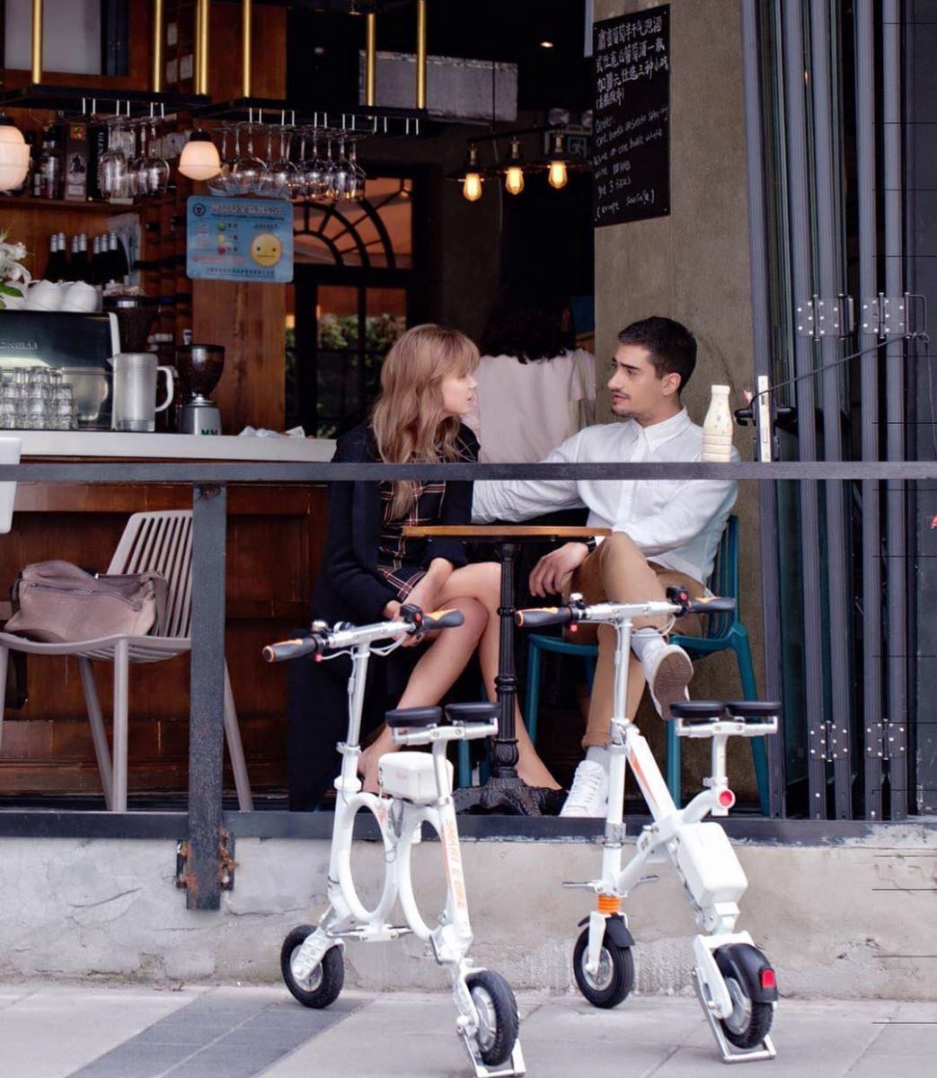 Elektro Moped Fahrrad