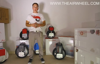 AIRWHEEL X3 INTRODUCTION | How to ride AirWheel