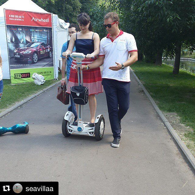 selbststabilisierendes elektrisches einrad